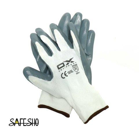 دستکش ایمنی کف مواد نیتریل OX