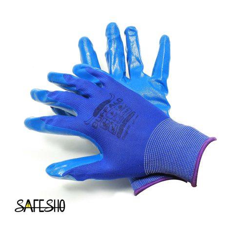دستکش ایمنی کف مواد نیتریل بوفالو