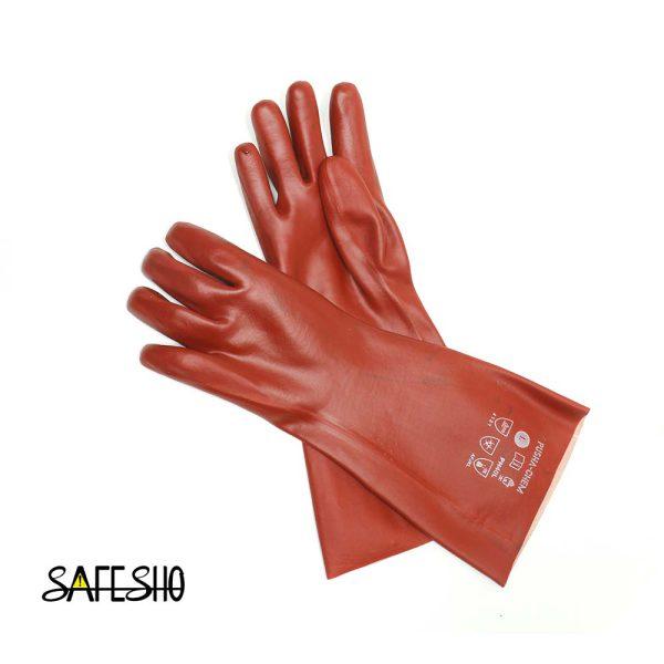 دستکش ضد اسید بلند پوشا pusha