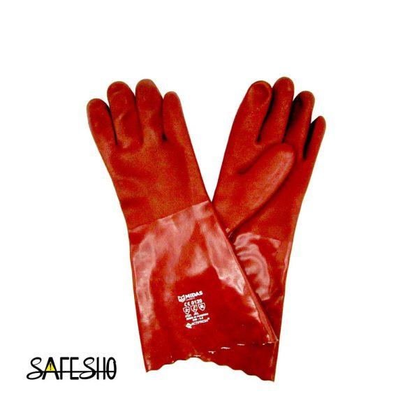 دستکش ایمنی ضد اسید میداس Midas
