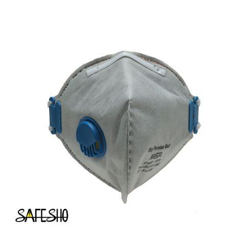 ماسک FFP3 8636 طوسی اسکای