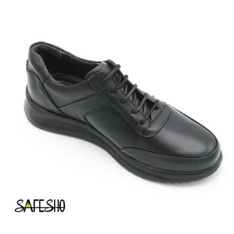 کفش راحتی مشکی پاژند مدل رادین