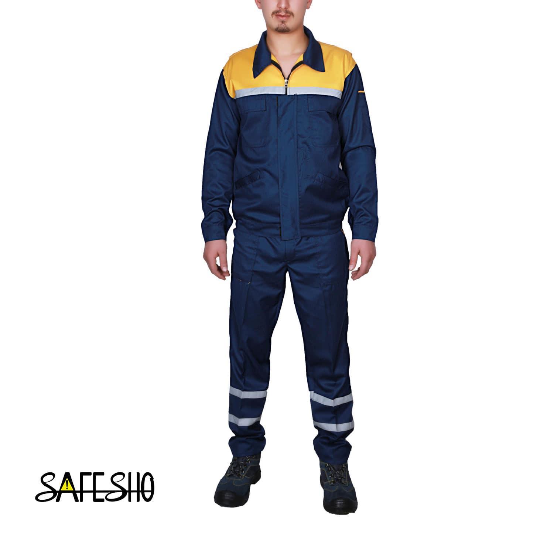 طراحی لباس کار کارجامه - طرح جدید لباس کار