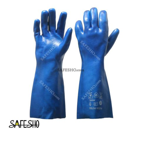 دستکش ضد حلال پوشا بلند