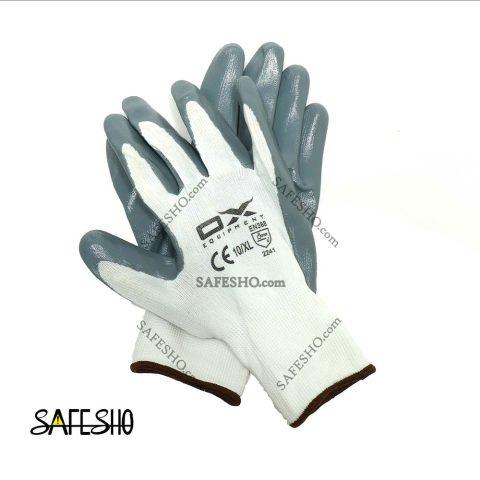 دستکش کف مواد نیتریل OX