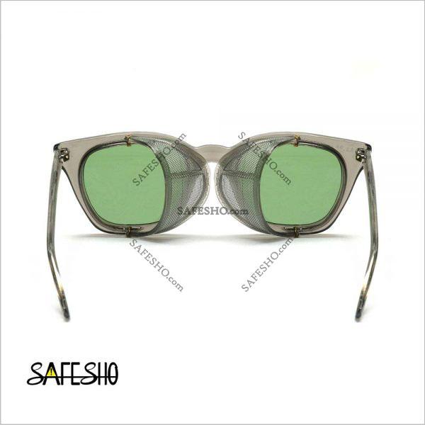 عینک ایمنی بغل توری PO مدل 140p