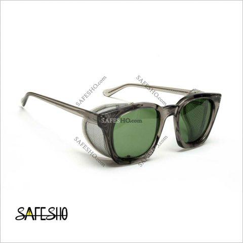 عینک ایمنی بغل توری PO مدل ۱۴۰p