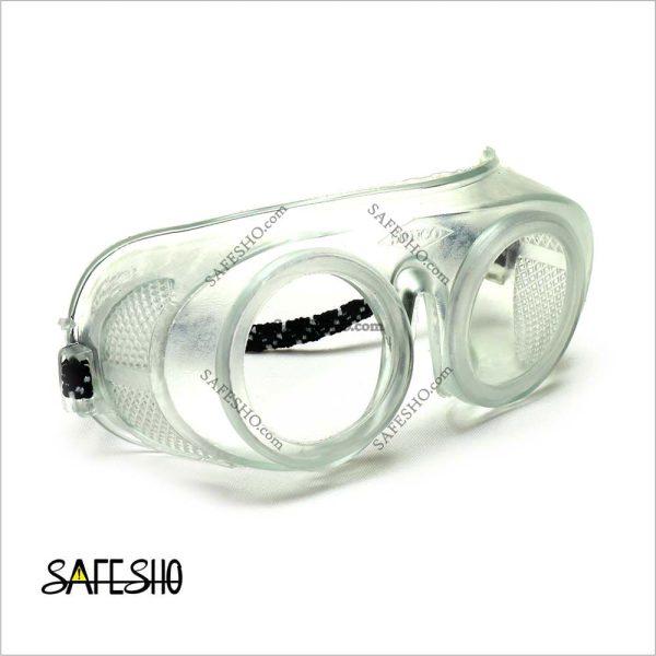 عینک ایمنی بی رنگ سانکو