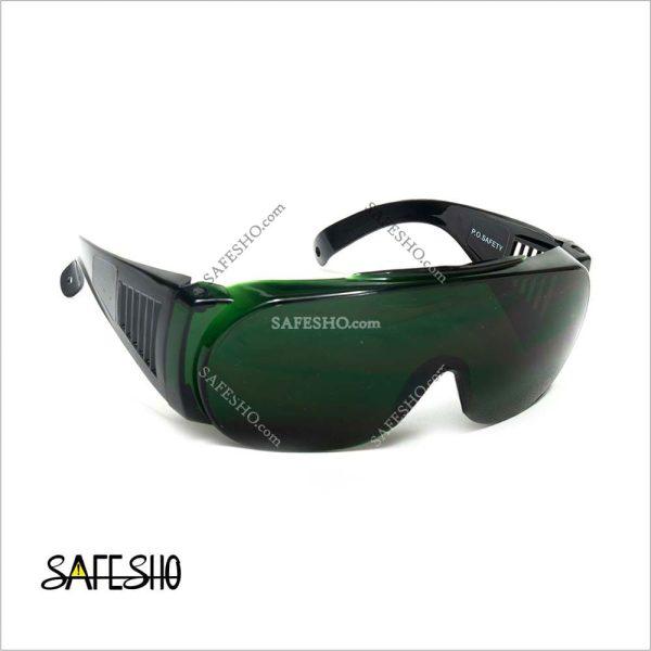عینک ایمنی محافظ کامل حدقه چشم PO مدل Y20C