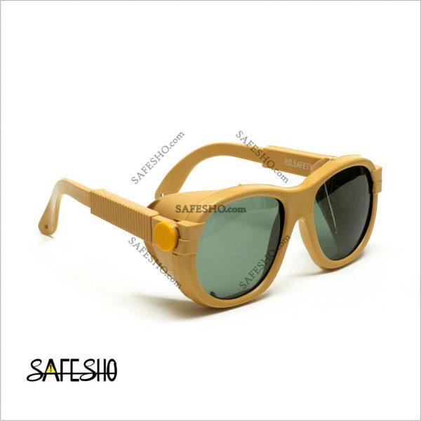 عینک ایمنی PO مدل S90 با قابلیت تعویض لنز