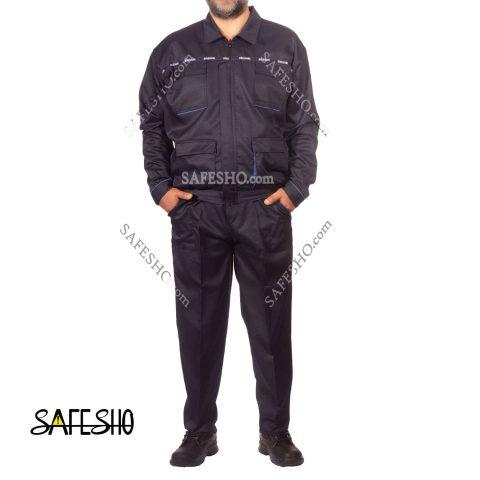 لباس کار مدل اورجینال Original سورمه ای