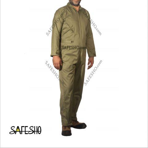 لباس یکسره طرح کانادایی (خلبانی) نسوز و ضد آب