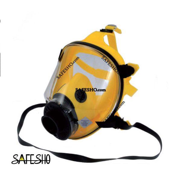 ماسک تمام صورت TR2002 زرد سیلیکونی اسپاسیانی