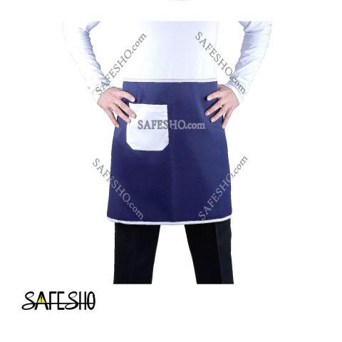 پیشبند کوتاه آشپزی جیب دار سیف شو مدل A.1