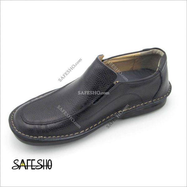 کفش اداری مشکی پاژند مدل آیدین