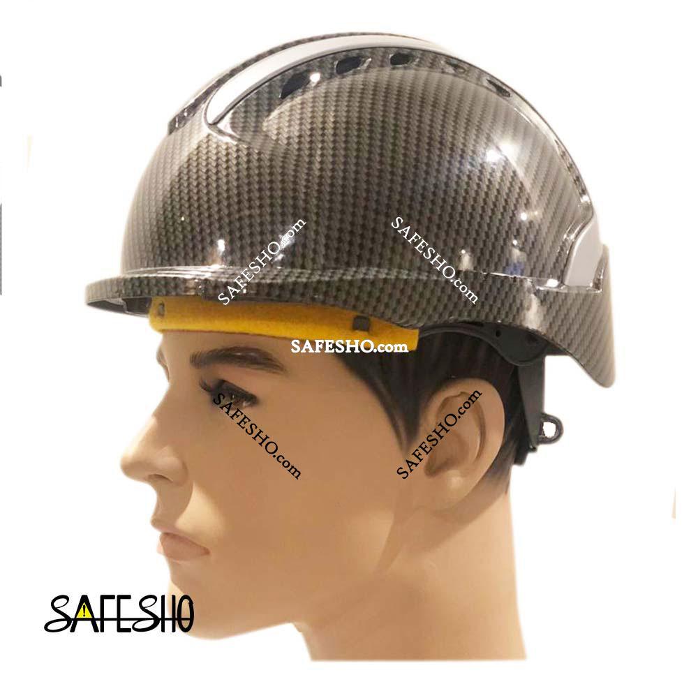 کلاه ایمنی هترمن مدل MK8 کار در ارتفاع طرح فیبر