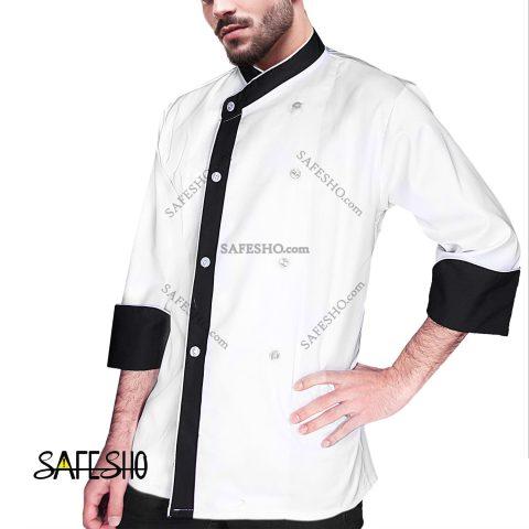 روپوش سرآشپزی سیف شو مدل سفید کلاسیک 4