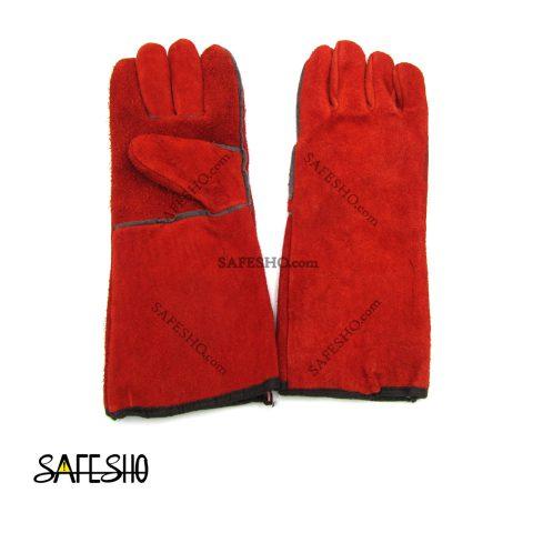 دستکش هوبارت قرمز بلند