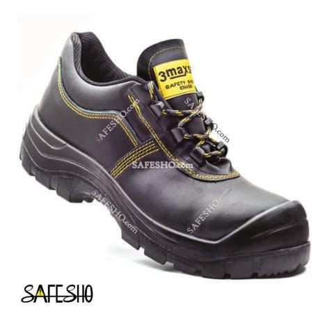 کفش ایمنی ۳max ایمن پا مشکی