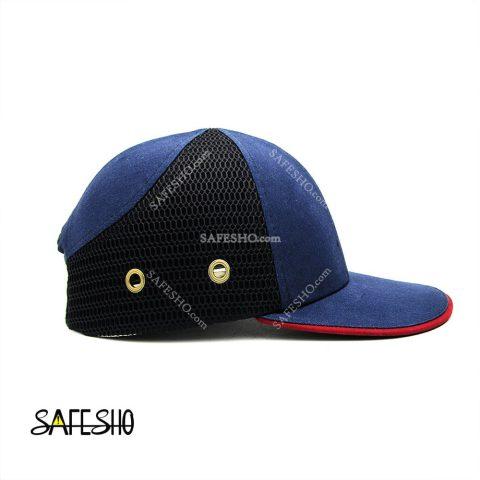 کلاه ایمنی کپ هترمن سورمه ای