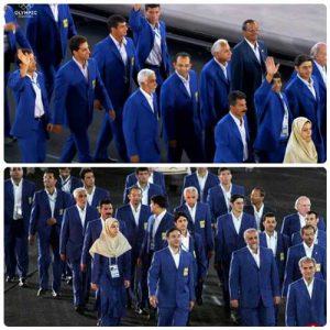 لباس کاروان ایران در المپیک 2004 آتن