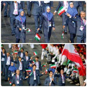 لباس کاروان ایران در المپیک 2012 لندن