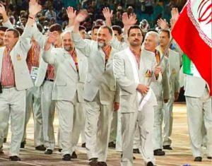 لباس کاروان ایران در المپیک 2000 سیدنی