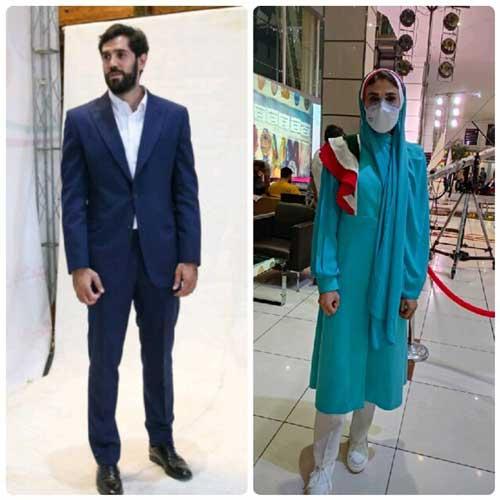 لباس کاروان ایران در المپیک 2020 توکیو