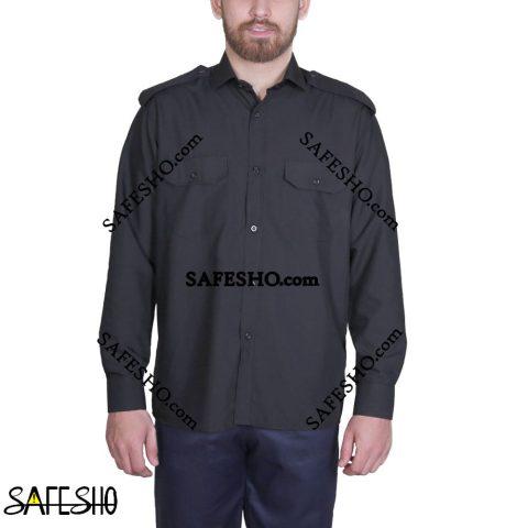 پیراهن نگهبانی مشکی