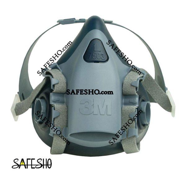 ماسک نیم صورت دو فیلتر 3M مدل 7503